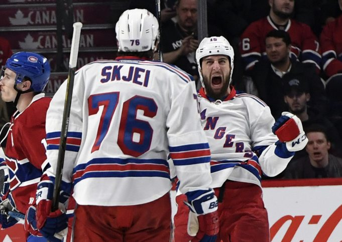 New York Rangers Prove the Switch Can be Flipped During Game 1 Victory
