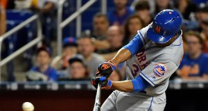 New York Mets Amazin' News, 4/14/17: Wild Night in Miami, Lagares Back and Tebow Impresses