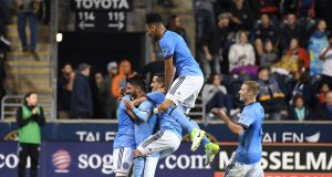 David Villa's Amazing Goal Leads New York City FC Past Philadelphia Union, 2-0 (Highlights)