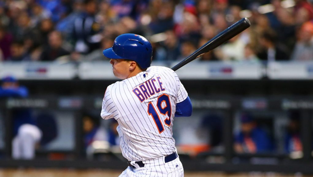 New York Mets: Injuries Force a Brand New Lineup vs. the Phillies with Bruce at 1B, Conforto in CF