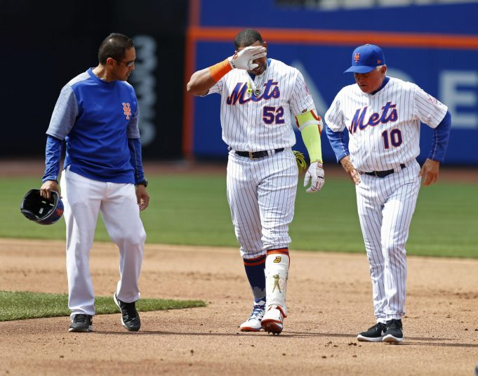 New York Mets Place Yoenis Cespedes on 10-day DL with Strained Left Hamstring