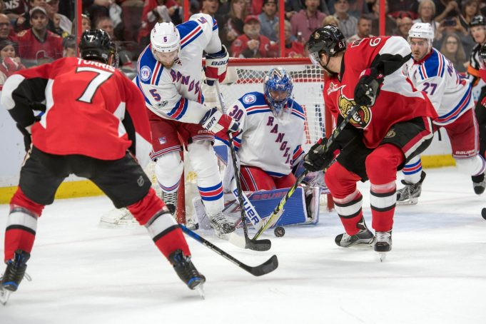 New York Rangers Come Out Flat, Fall to Ottawa Senators, 2-1, in Game 1 (Highlights)