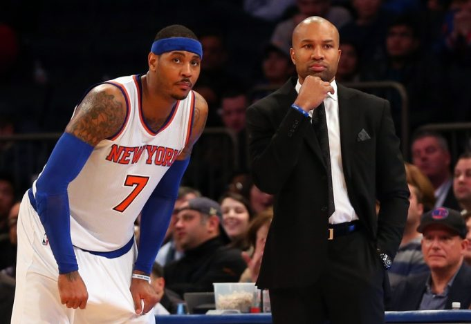 New York Knicks News Mix, 4/23/17: More on Melo and La La, Dolan and Fan
