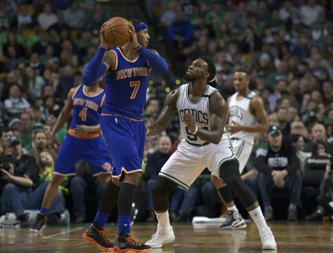 New York Knicks News Mix, 4/21/17: Carmelo Anthony to the Celtics?