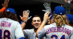 New York Mets: Curtis Granderson Should Be Out, Michael Conforto In 1