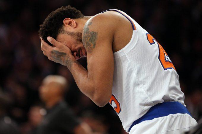 New York Knicks' Derrick Rose Undergoes