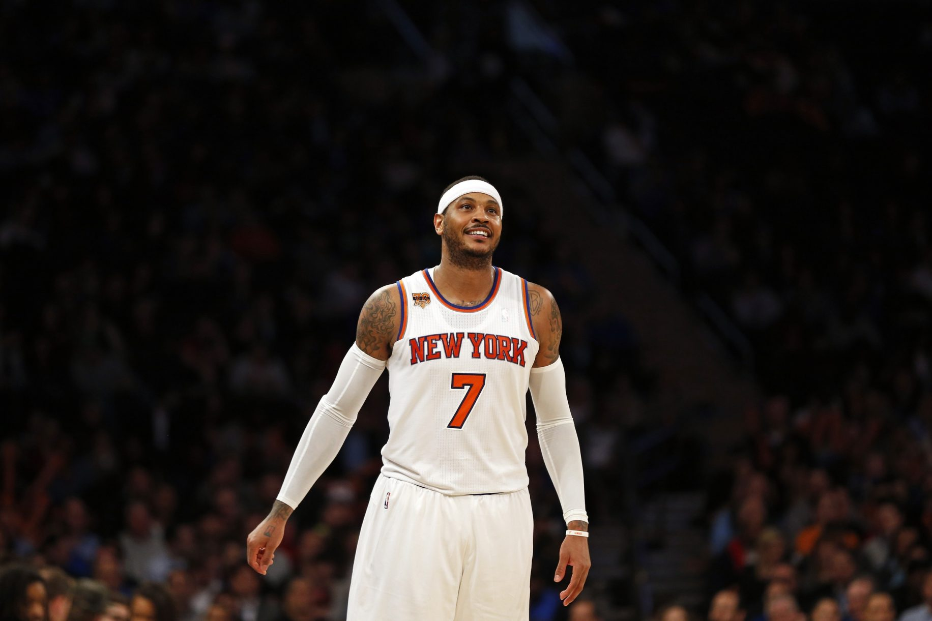Knicks: Carmelo Anthony Involved In Heated Exchange With Jeff Hornacek, Kurt Rambis (Report) 2