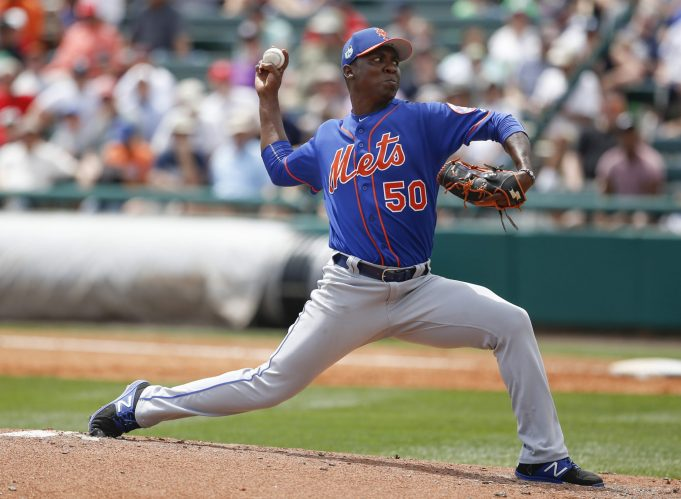 New York Mets Finalize 2017 Opening Day Roster; Rafael Montero Makes the Cut