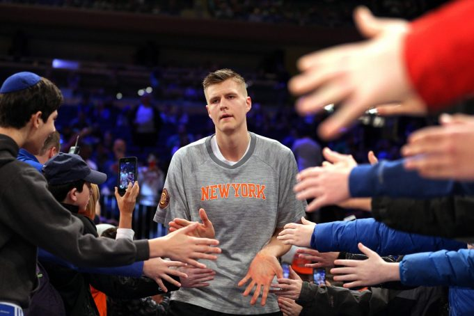 Kristaps Porzingis' Frustration Cements Notion That the Knicks Are a Disgrace