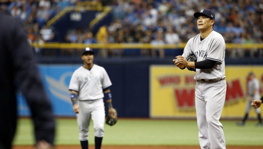 Tanaka Has Worst Career Start, New York Yankees Drop Opener In Tampa (Highlights)