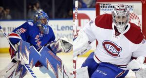 New York Rangers' Henrik Lundqvist Battles Carey Price in Stanley Cup Playoffs 4
