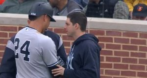 New York Yankees: Gary Sanchez Leaves Game With Apparent Arm Injury