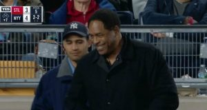 New York Yankees Legend Dave Winfield Makes Appearance In The Bronx (Video)