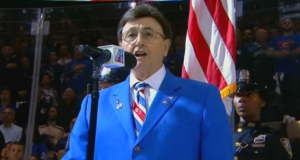 The Great John Amirante to Sing Game 4 National Anthem: New York Rangers vs. Ottawa Senators