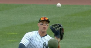 Starlin Castro, Aaron Judge Team Up To Make Excellent Catch for Yankees (Video)