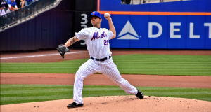 Watch Tommy Milone's First K For the New York Mets (Video)