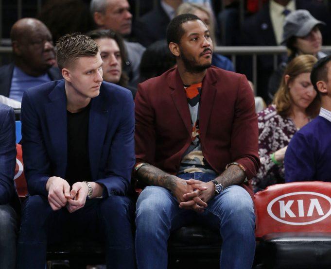 New York Knicks News Mix, 5/6/17: Porzingis Trade Talks, Melo-Clips Details