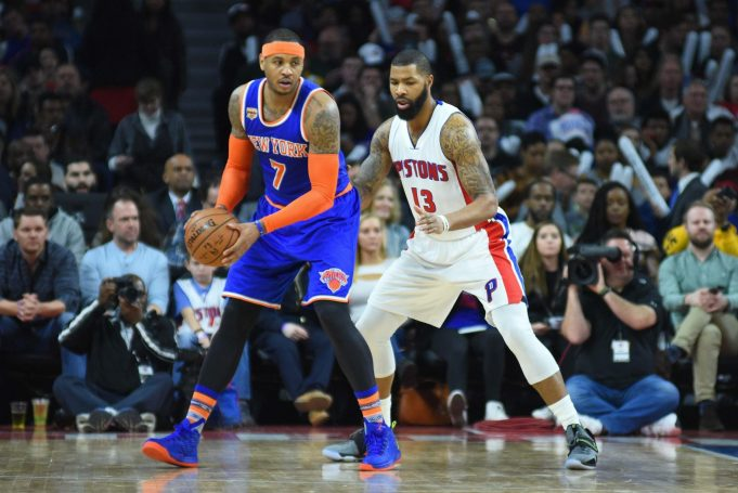 Knicks: Could Detroit Pistons Be Open to Carmelo Anthony Trade?