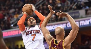 New York Knicks: Carmelo Anthony Gets Support From Teammate