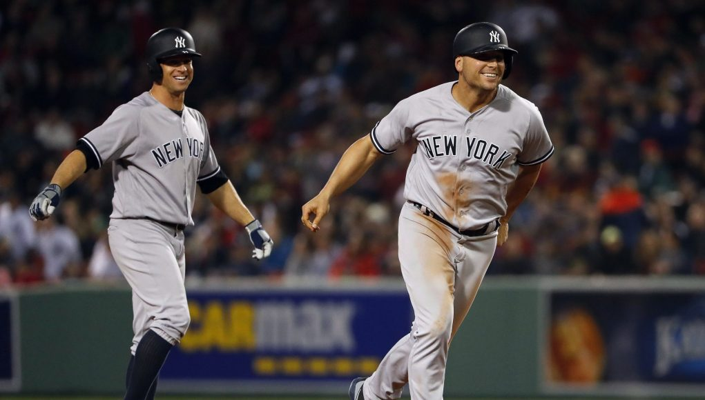 New York Yankees: Brett Gardner, Matt Holliday Tied In HR Race