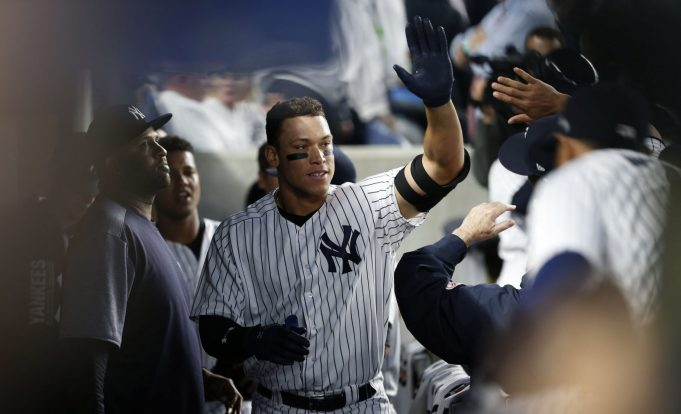New York Yankees: Aaron Judge Named American League Rookie Of The Month For April