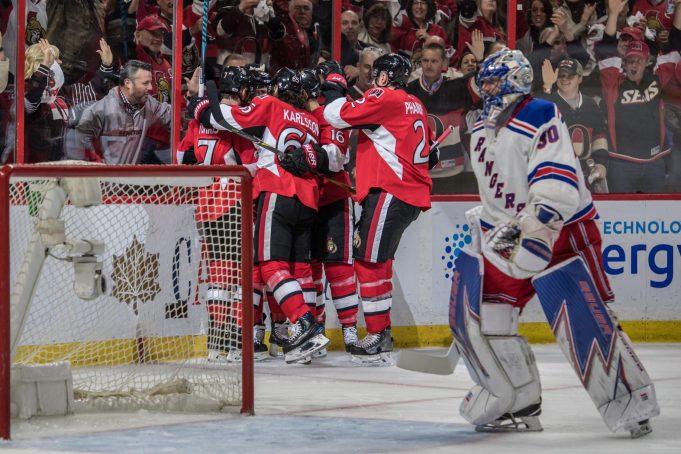 New York Rangers Collapse Late Again, Fall 5-4 to Ottawa Senators in OT in Game 5 (Highlights)