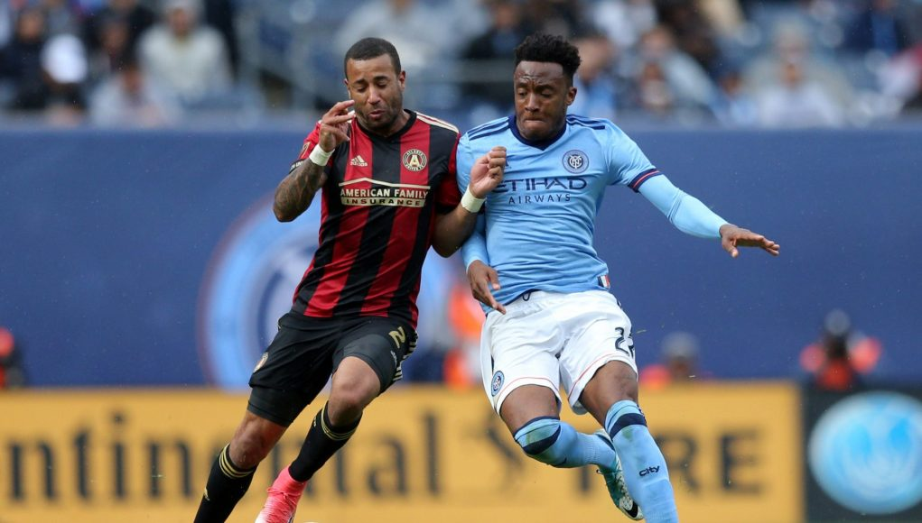New York City FC's Rodney Wallace Demonstrates 2 More Incredible Talents Against Atlanta