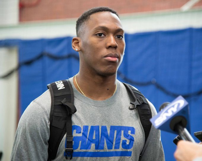 New York Giants Rookie Wayne Gallman Looking To Boost Running Game 2