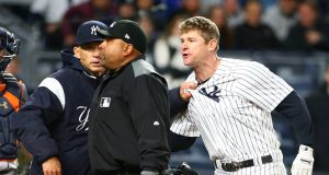 New York Yankees: How Did Chase Headley's Crazy Ejection Spark?