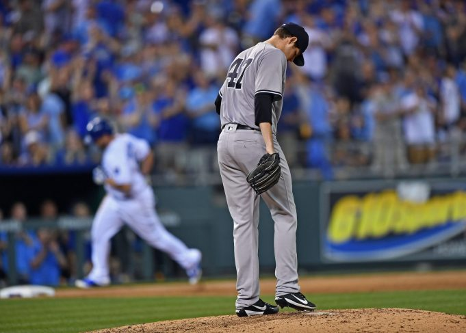 New York Yankees Offense Shut Down By Royals, Danny Duffy