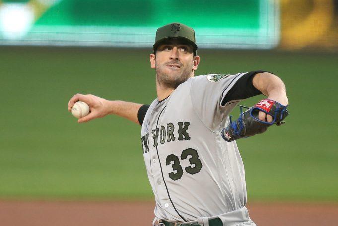 Matt Harvey Stars in New York Mets 7-2 Victory in Pittsburgh