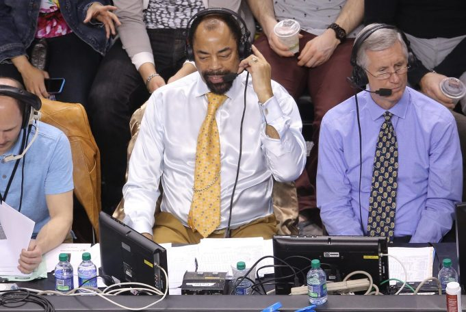 Who will be the voice of the New York Knicks in the future?