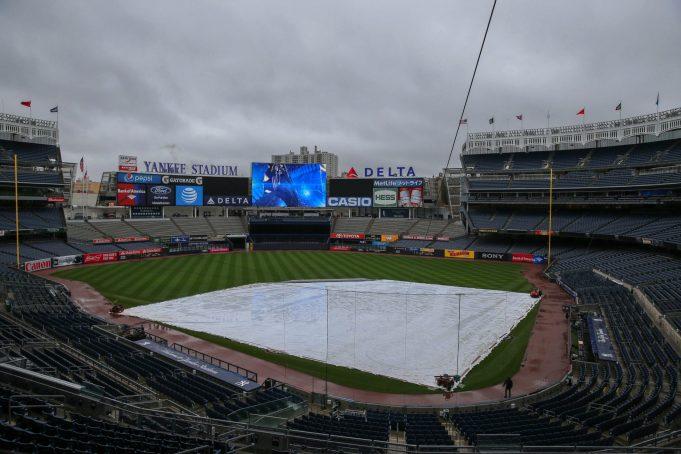 New York Yankees, Kansas City Royals Postponed Due To Rain