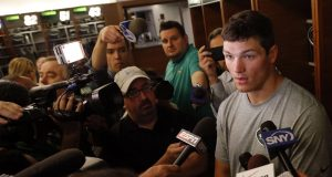 New York Jets' Christian Hackenberg To Face Ultimate Test Behind Porous O-Line 1