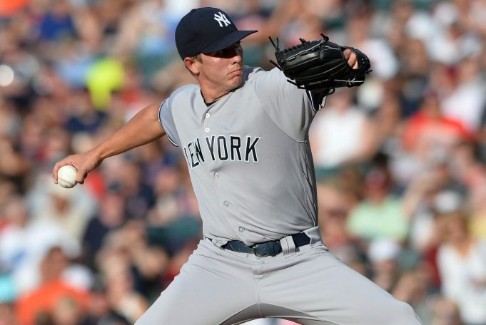 New York Yankees Option RHP Chad Green To Triple-A