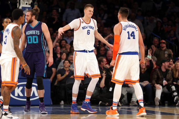 Forget Small Ball: The Knicks Should Start Kristaps Porzingis and Willy Hernangomez Together 2
