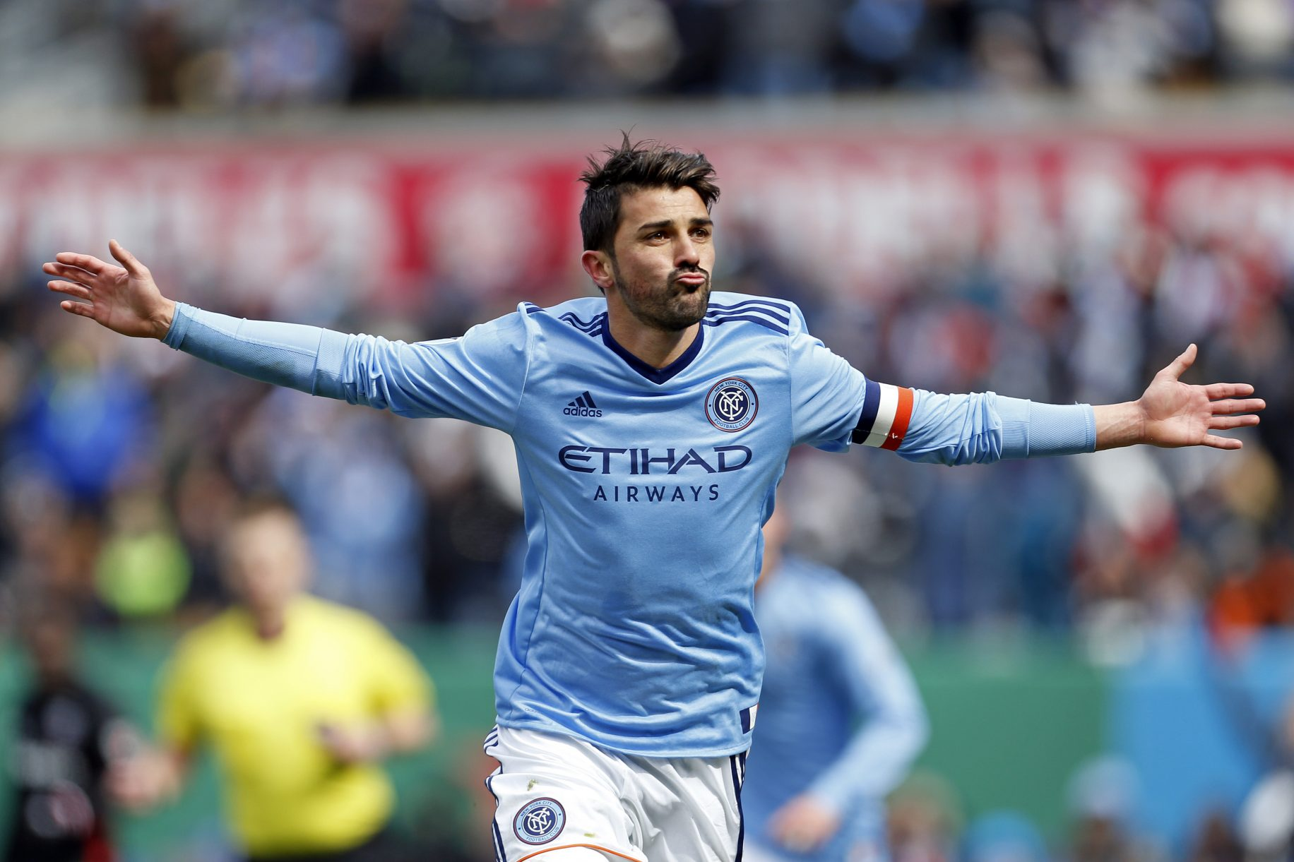NYCFC Captain David Villa Extends Stay to 2018 Throws Out First