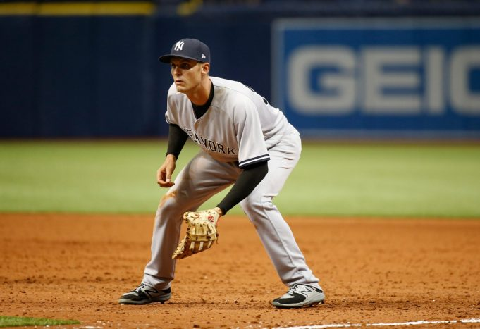 New York Yankees Place Greg Bird On 10-Day Disabled List