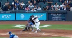 New York Yankees: Matt Holliday Destroys Pitch For 300th HR (Video)