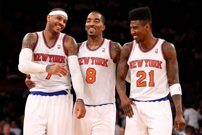 New York Knicks News Mix, 6/1/17: J.R Smith, Iman Shumpert on Carmelo Anthony