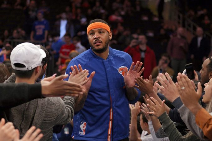 Knicks: Childish Feud Between Melo and Phil Keeps Picking Up Steam