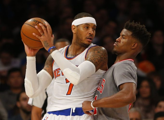 The Jimmy Butler to the Celtics Rumor Is an Indictment Against Carmelo Anthony
