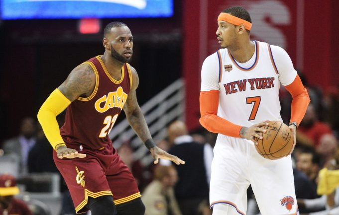 New York Knicks News Mix, 6/7/17: Would Carmelo Anthony Have Helped Cavs?