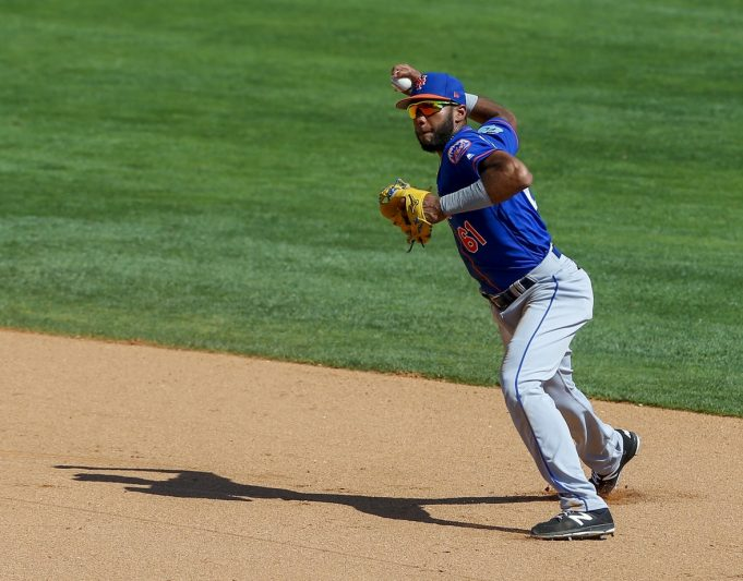 New York Mets Prospect Amed Rosario Shows Off Elite Defense