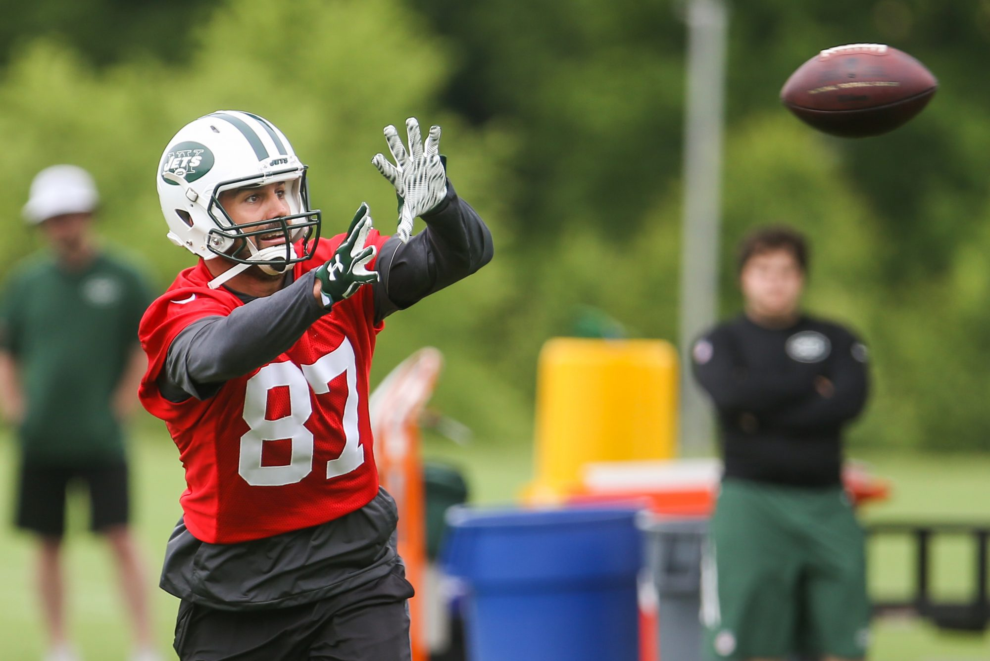 New York Jets Officially Release Eric Decker After Failing to Trade Him