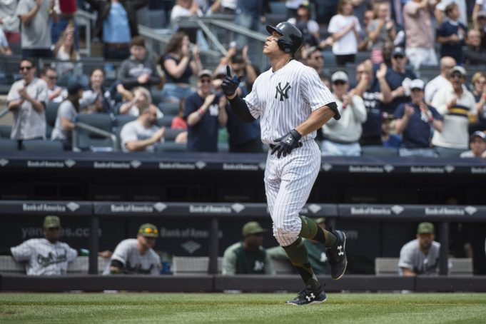 New York Yankees: Aaron Judge Named Rookie of the Month For May
