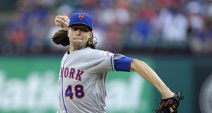 New York Mets Fall Hard to Rangers on Jacob deGrom's Shelling,10-8