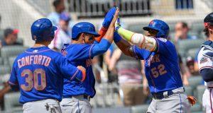Yoenis Cespedes Returns in Grand Fashion, New York Mets Top Atlanta Braves (Highlights) 2