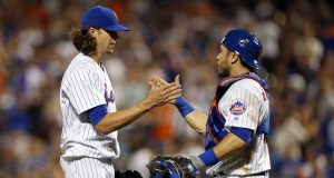 Bats Back Jacob deGrom's CG, New York Mets Take Down Chicago Cubs, 6-1 6