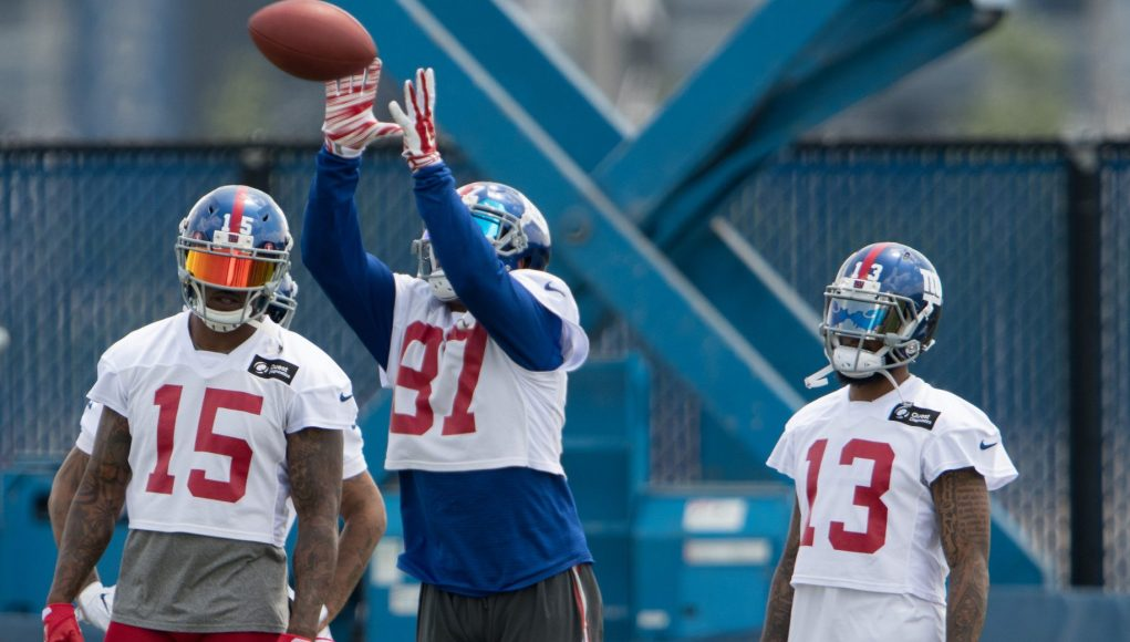 Is the New York Giants WR Trio Already the Best In the NFL?